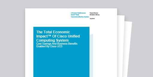 Cisco Data Center: Get IT Cost Savings and Business Benefits