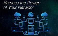 Harness the Power of Your Network Infographic