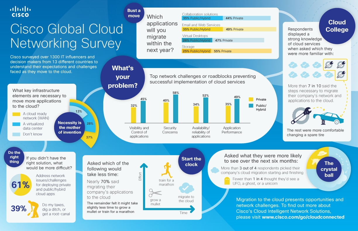 Cloud Survey Infographic