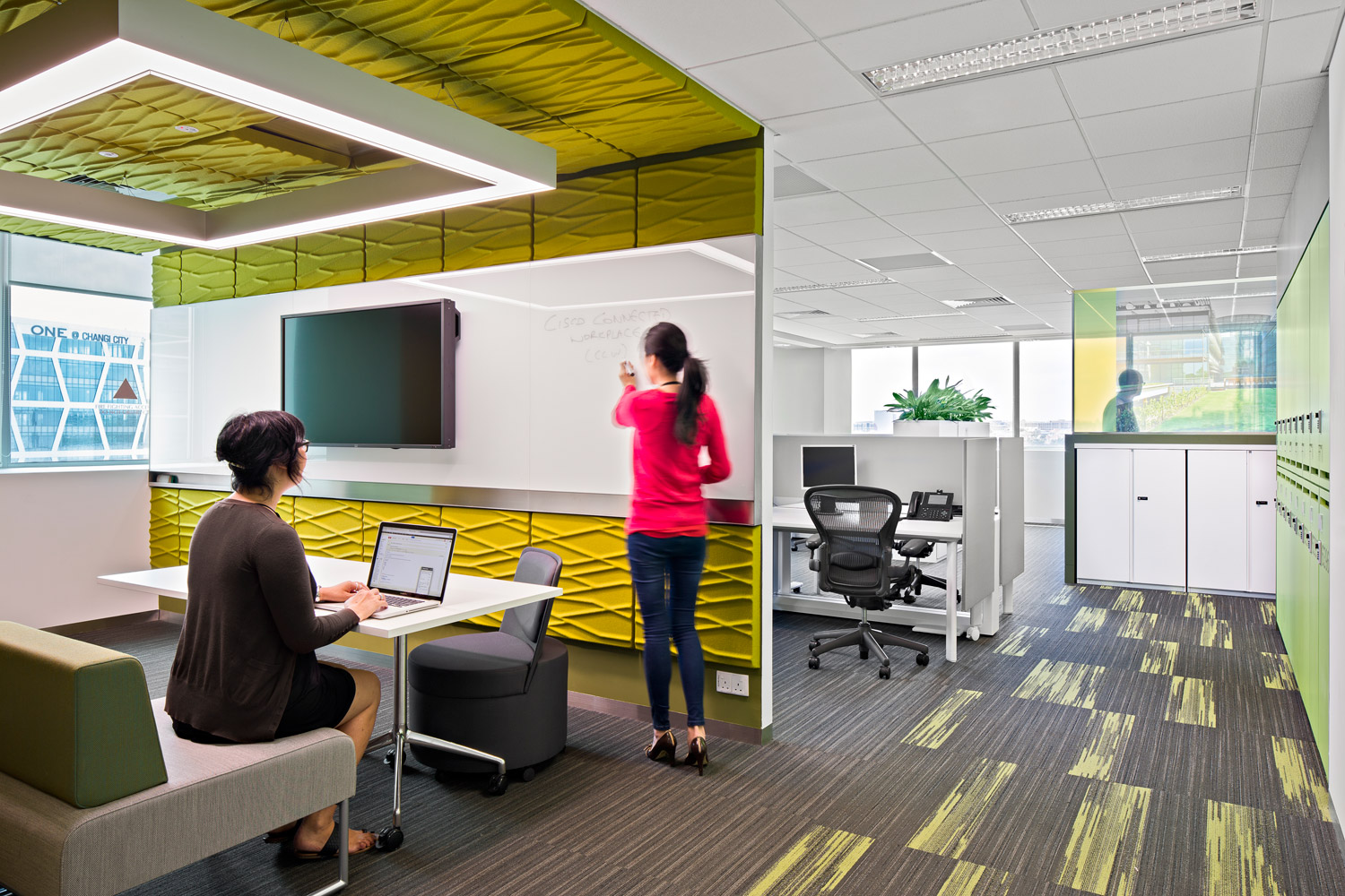 Project Areas : Cisco Connected Workplace