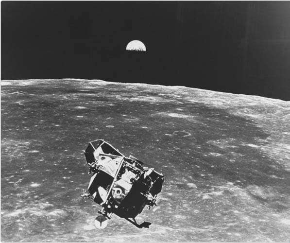 Landing On Moon Drawing - Pics about space