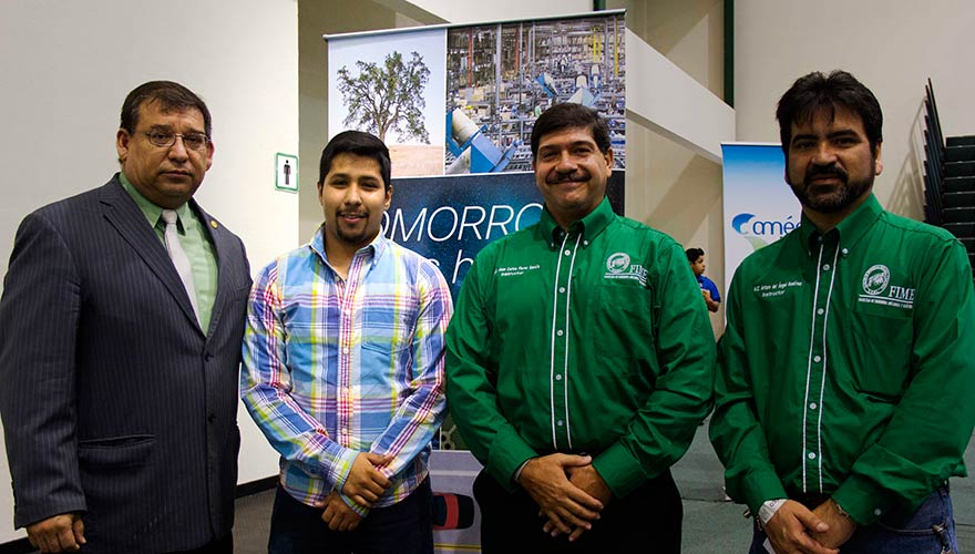 Luis was the first graduate from the program to receive a full 4-year scholarship from the Universidad Autonoma de Nuevo Leon to continue his studies in networking technology and engineering.