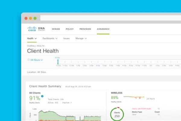 Live instant demo - Cisco DNA Assurance