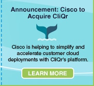 Announcement: Cisco to Acquire CliQr