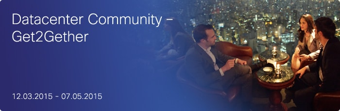 Datacenter Community - Get2Gether