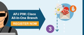 APJ PIW: Cisco All-In-One Branch