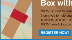 Get out of the box with VIP 27!
