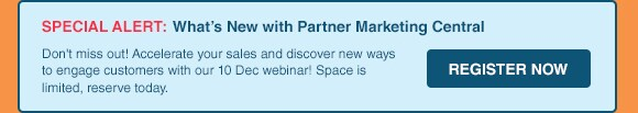 What's New with Partner Marketing Central