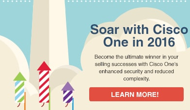 Soar with Cisco One in 2016