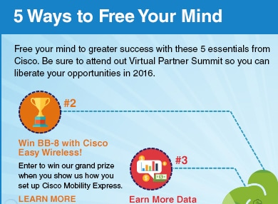 Win BB-8 with Cisco Easy Wireless!