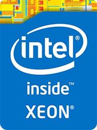 Intel Xeon Inside Logo.