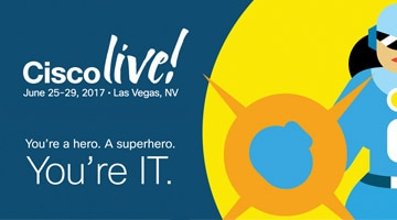 Register Today for Cisco Live 2017. Five action-packed days. One amazing concert. Early bird pricing ends May 1.