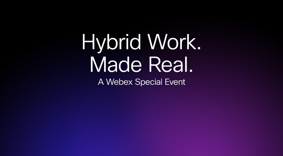 Hybrid Work. Made Real.