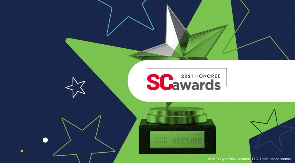 Cisco wins SC Award for Best Security Company
