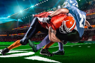 How the NFL mixes football and technology