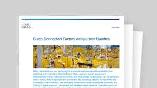 Save on the Connected Factory Accelerator Bundles
