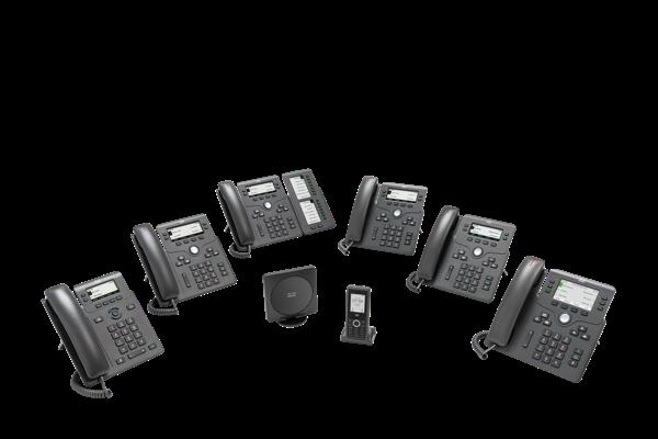 TéléphonesIP Cisco6800