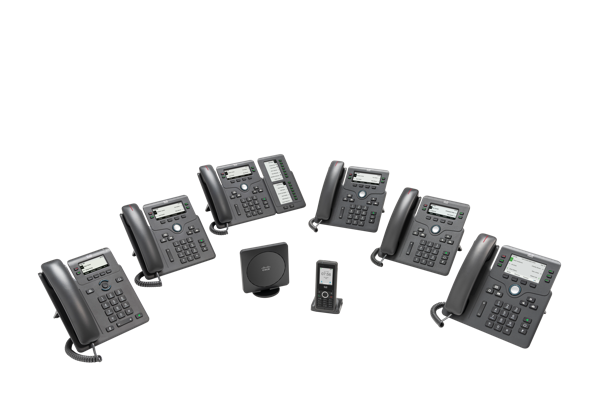 Cisco IP Phone 6800 Series