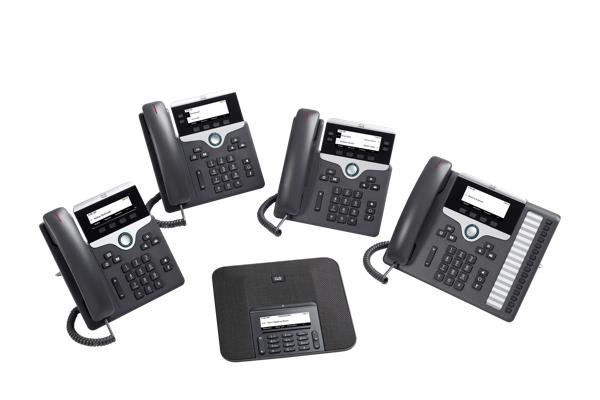 Cisco IP Phone 7800 Series MPP