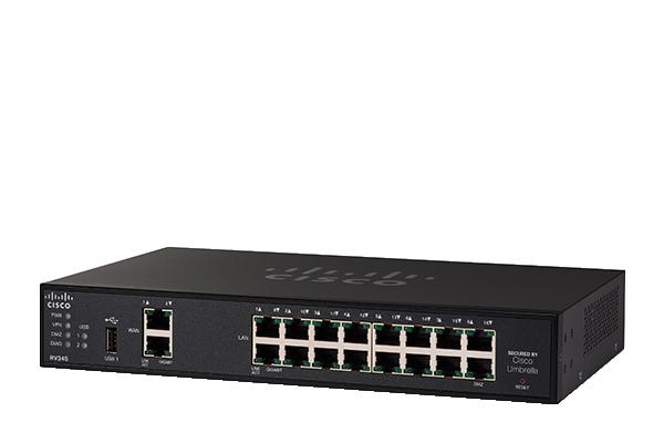 Routeur VPN double WAN Gigabit CiscoRV345