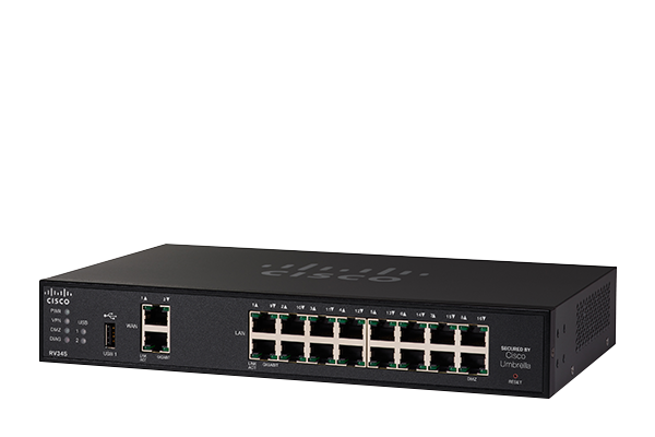 Cisco RV345 Dual WAN Gigabit VPN Router