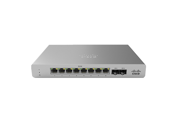 Meraki MS120-8 Series Switches