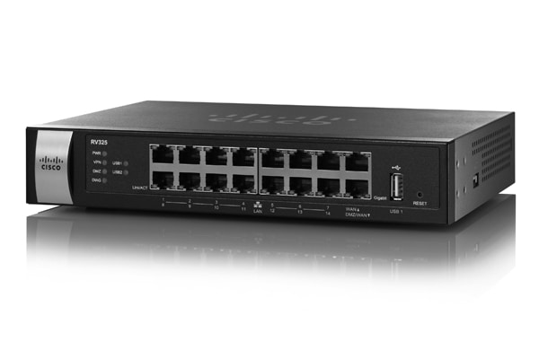 Cisco RV325 Dual Gigabit WAN WF VPN Router