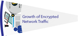 Growth of Encrypted Network Traffic