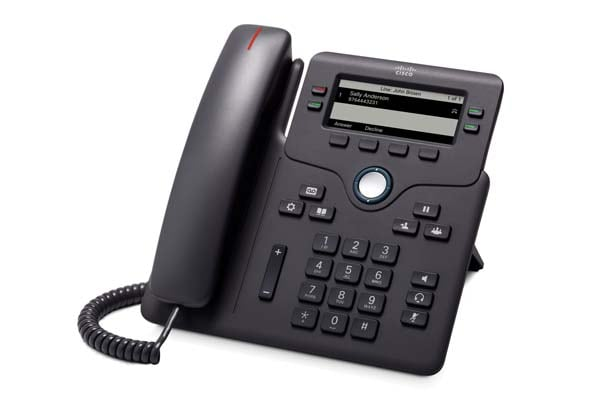 Cisco CP-6851 4-Line IP Phone with Display, PoE and Gigabit PC Port