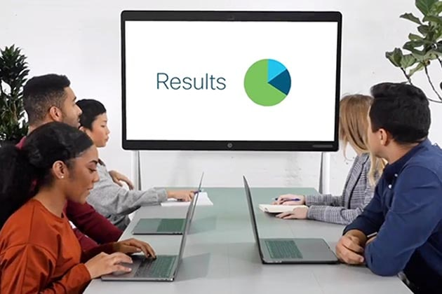 Transform your collaboration experience with Cisco Webex Rooms - results