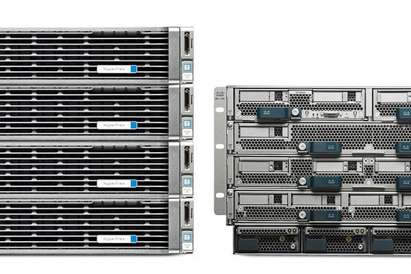 Cisco HyperFlex HX240c M4 Node with Cisco UCS B200 M4 Blade Series Servers