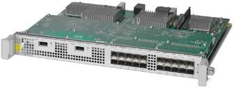 図 1 Cisco ASR 1000 シリーズ固定型イーサネット ラインカード(ASR1000-2T+20X1GE)
