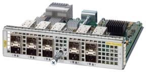 図 4 Cisco ASR 1000 シリーズ 1 ポート 100 ギガビット イーサネット ポート アダプタ