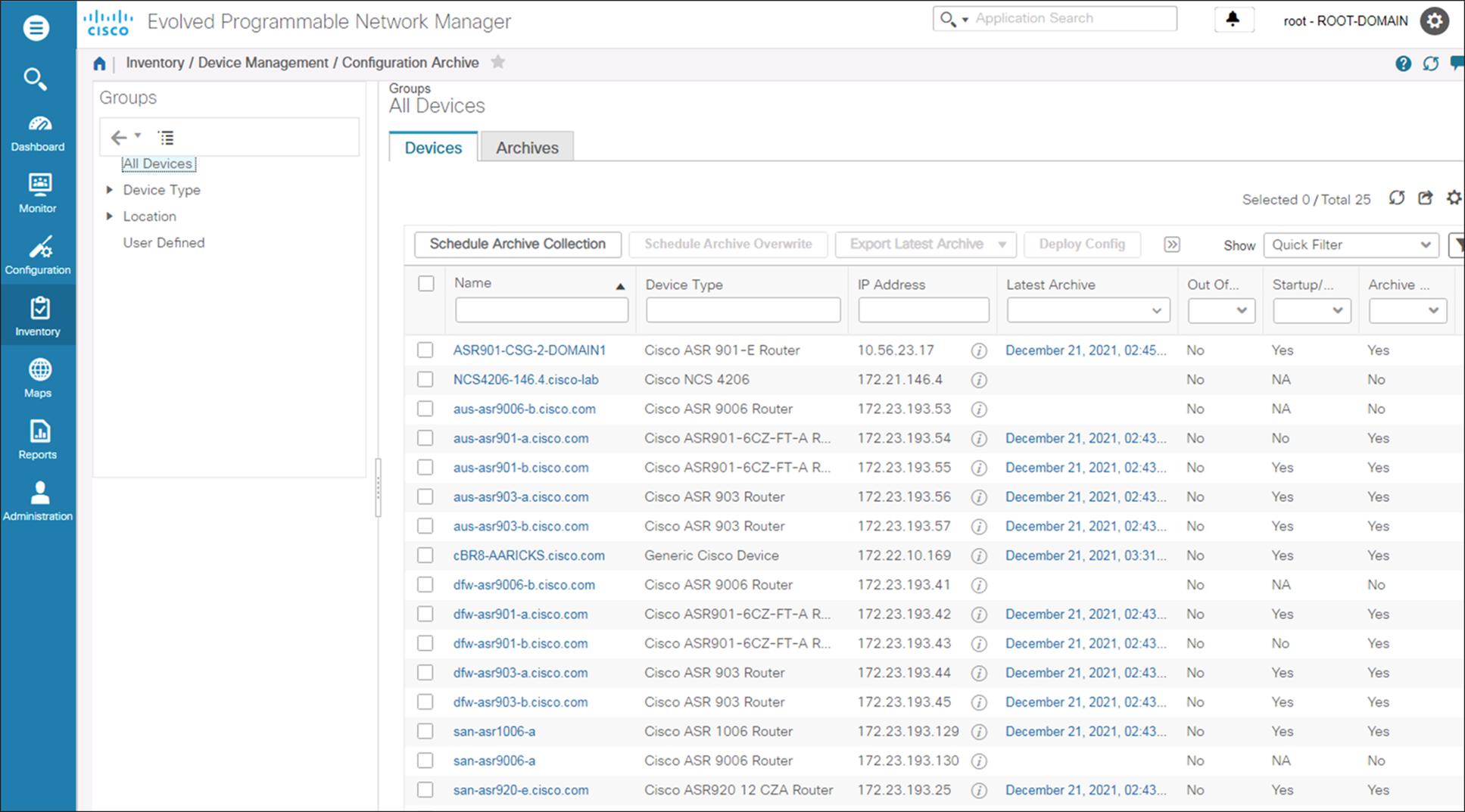 Cisco Evolved Programmable Network Manager - Cisco Evolved ...