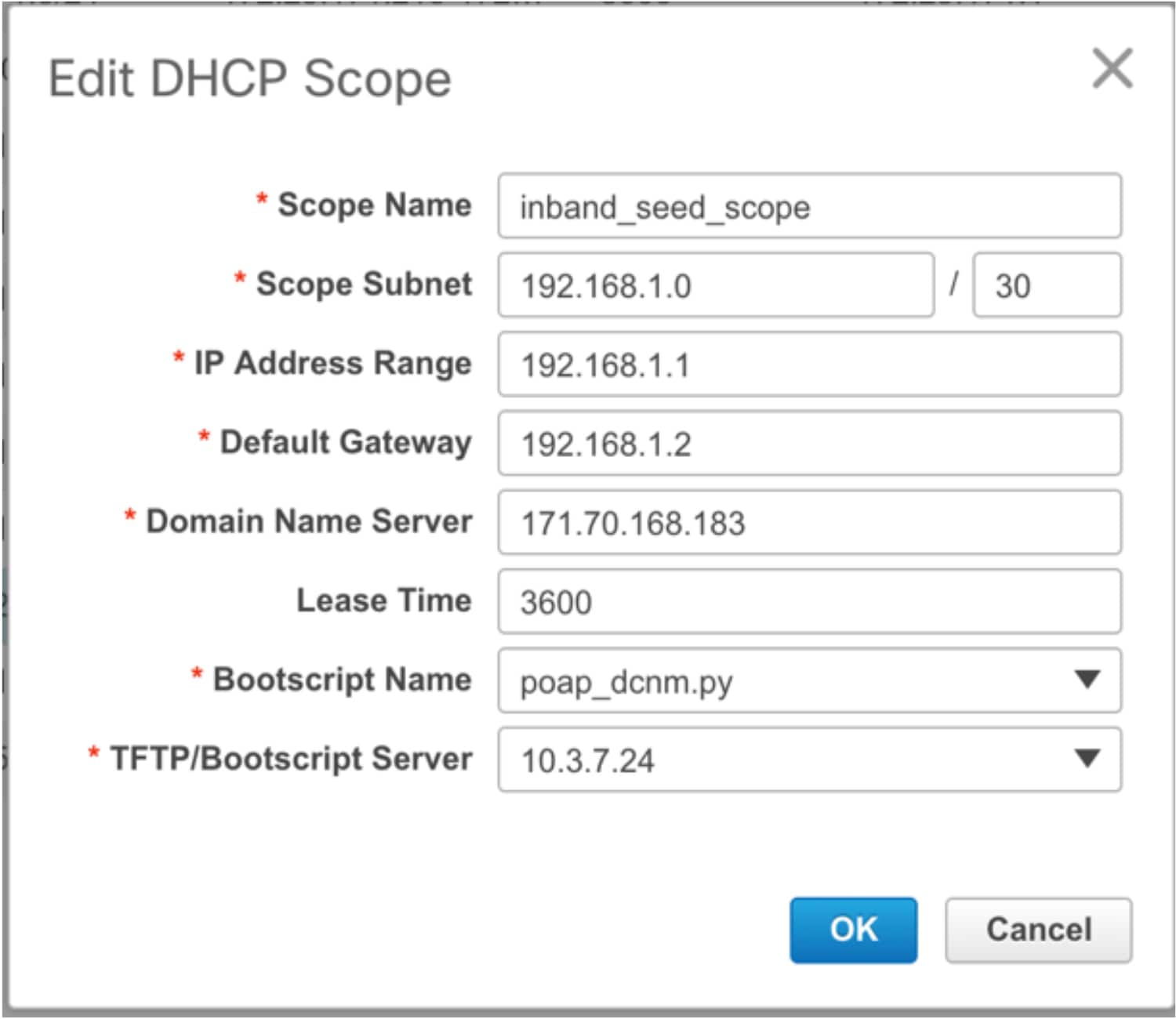 DCNM Power-On Auto Provisioning (POAP) Guide - Cisco