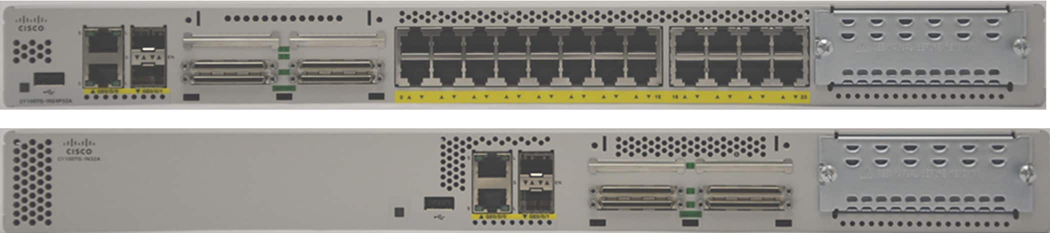 Cisco 1100 Terminal Services Gateway models