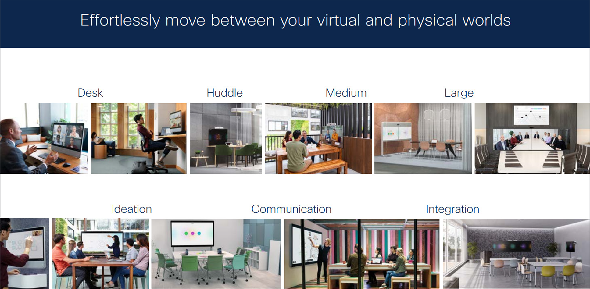 Effortlessly move between your virtual and physical worlds