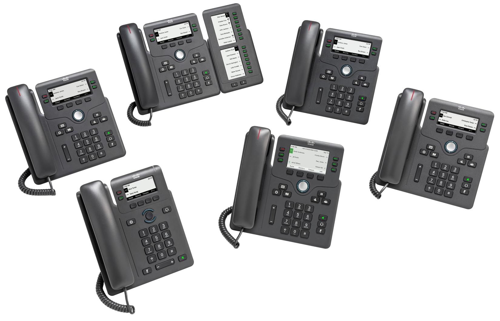 Cisco IP Phone 6800 Series with Multiplatform Phone Firmware Data ...