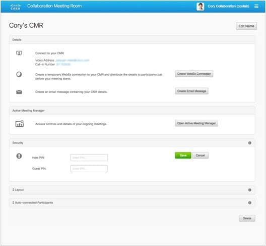 Cisco Telepresence Management Suite Provisioning Extension