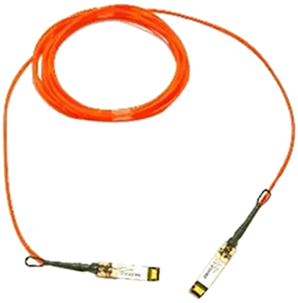 Cisco direct-attach active optical cables with SFP+ connectors