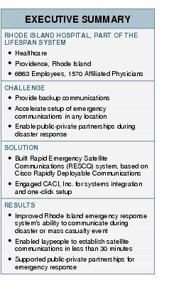 Hospital System Improves Emergency Response Cisco