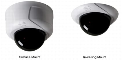 Cisco Video Surveillance 5010 5011 Indoor Fixed Dome Ip Hd