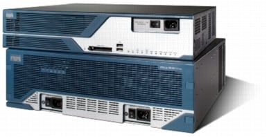 Cisco 3845 flash slots