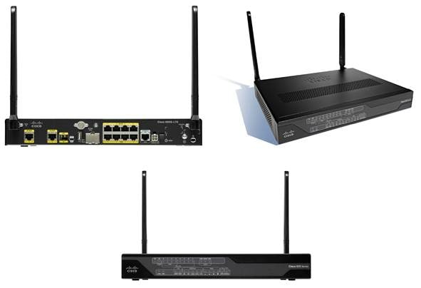 Cisco 890G Series 4G LTE 2 5 Integrated Services Routers for