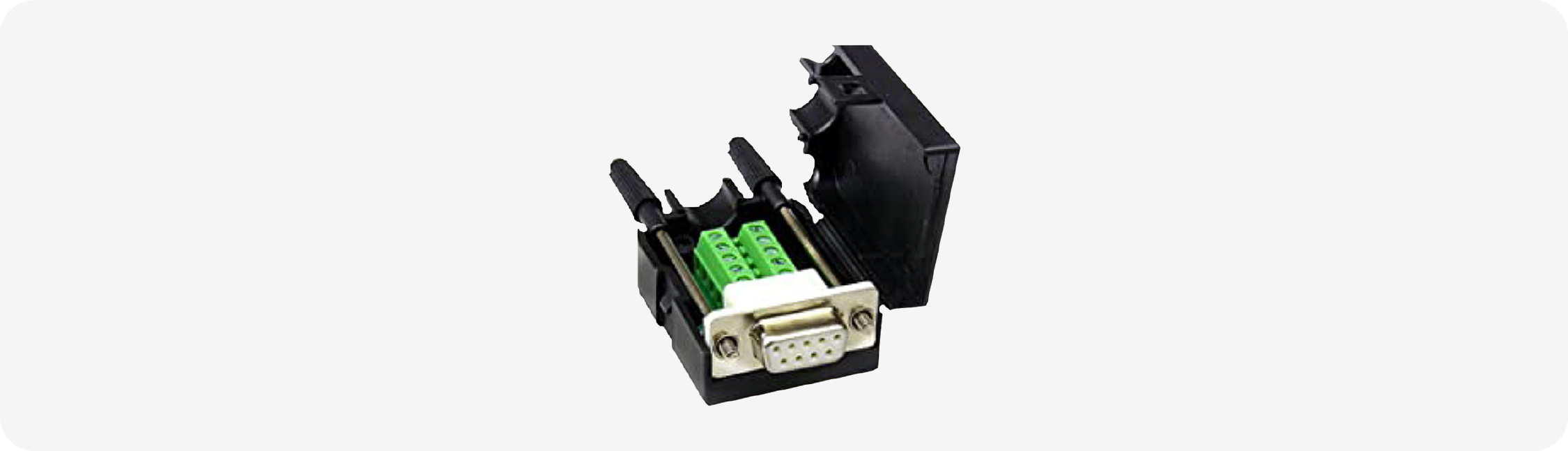 DB9 breakout connector