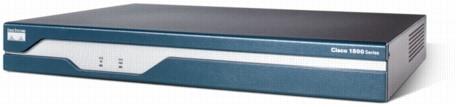 CISCO 1841 INTEGRATED SERVICES ROUTER  WIC-1DSU-T1-V2   256F//256D CISCO 1841-SEC