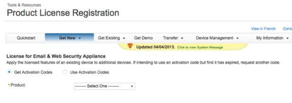 Cisco Web Security Virtual Appliance WSAV Licenses for