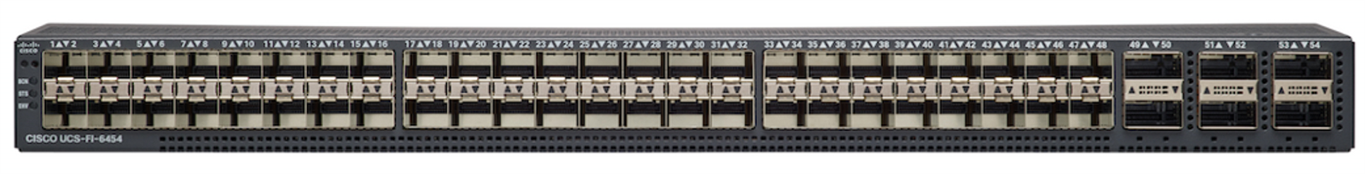 Cisco UCS 6454 54-Port Fabric Interconnect_Rear view