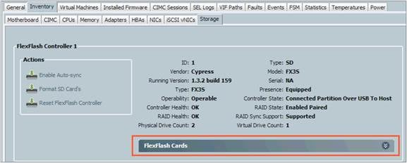 Configure and Use Cisco FlexFlash Secure Digital Cards on