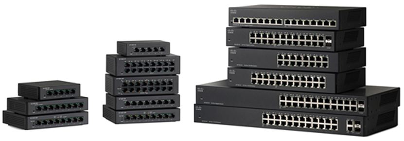 Cisco 110 Series Unmanaged Switches